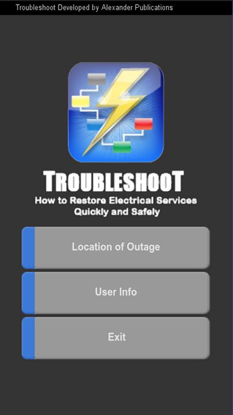 Trouble Shoot Title Screen