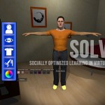 Socially Optimized Learning in Virtual Environments